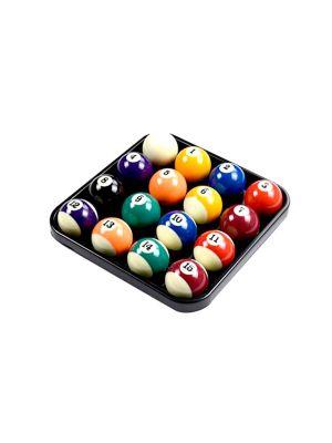 Billiard Plastic Ball Tray 16Pc Black