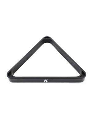 Triangle 57 mm Black Plastic