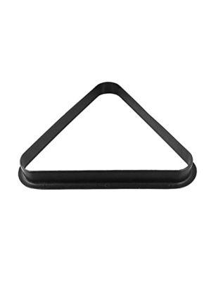 Pool Triangle Plastic 2 Inch Black