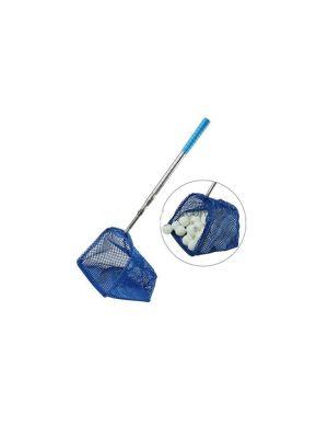 Table Tennis Ball Collector Blue Net | Nylon, Aluminum Alloy