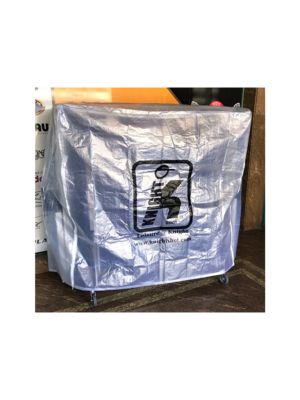 Table Tennis PVC Cover White | L.152 cm x W.145 cm x H.60 cm