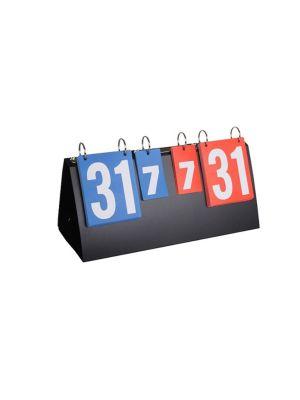 Table Tennis Score Board Plastic   39.8 x 21 x 15.5Cm