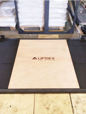 Deadlift Platform Fully Rubber with No Wood