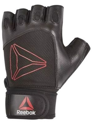 Weight Lifting Gloves-Red-L