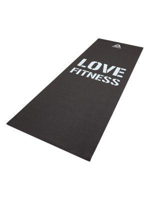 Fitness Mat - Love - Black