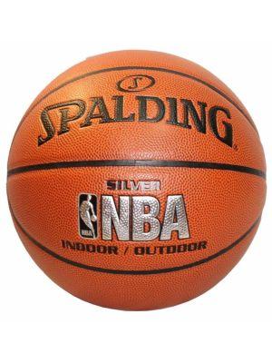 NBA Silver Series Comp Basketball - Size 7
