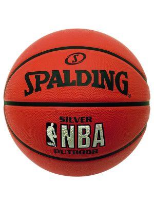 NBA Silver Series Outdoor  Rubber Basketball- Size 7