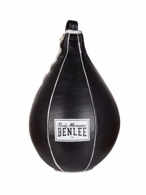 Leather Speedball Mack Black-White Small