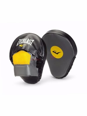 Mantis Punch Mitts - Black | Yellow
