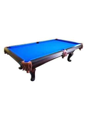 Venice Handicraft Pool Table | Brown Finish 8 Ft.