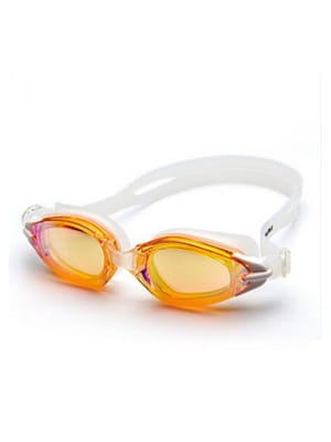 Adult Anti Fog and UV Swimming Goggles with Tube Case