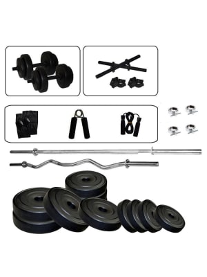 Home Gym Set 5 Ft Straight And 3 Ft Curl Rod Set