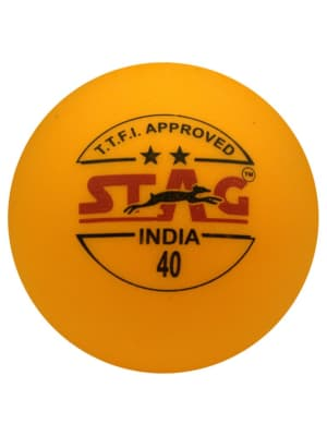 Table Tennis Ball Two Star - Pack Of 12