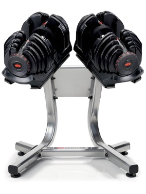 SelectTech 1090 Dumbbells with Stand