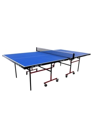 12mm Outdoor Rollaway Table Tennis Table with COMPREG Top   25 x 40mm