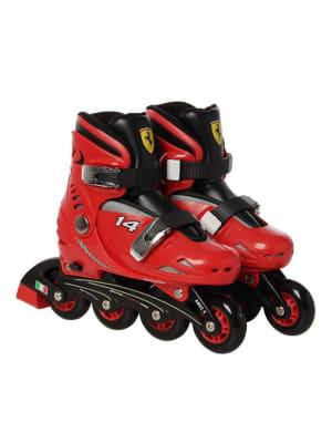 Adjustable Ferrari Kids Basic Roller Skate | FK7 Red