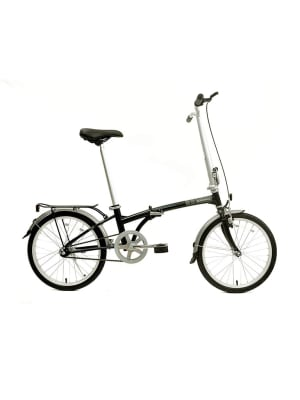 Speed D8 Folding Bike - Obsidian