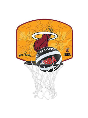 Kids NBA Team Heat Micro Mini Backboard Set