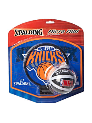 Kids NBA Team Knicks Micro Mini Backboard Set