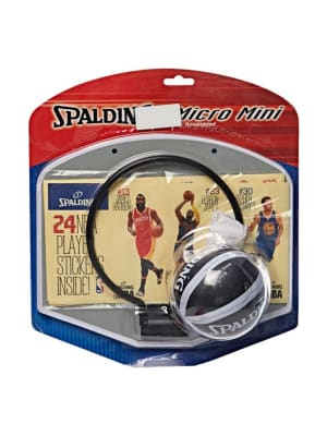 Kids NBA Player Sticker Micro Mini Backboard Set