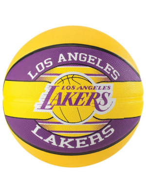 NBA Team Rubber Basketball La Lakers - Size 7