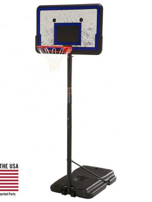 Adjustable 44 Inch Impact Portable Basketball Hoop   1221