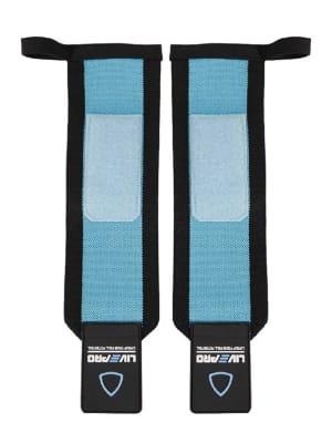 Lifting Straps 33*8 cm LP8090 | Black/Blue