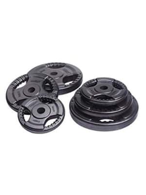 Rubber Plate 12.5Kg 30 mm LS2122 W/Handle Cut Hol