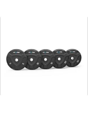 Rubber Bumper Plate Black LP8022