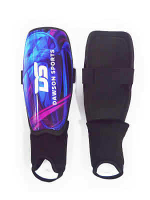 Soccer Shin Guard with Ankle - Junior