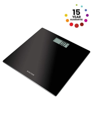 Black Glass Electronic Scale, 9069-BK3R