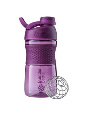 SportMixer Shaker-Plum-600 ml