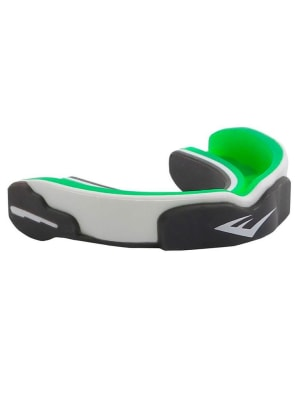 Evershield Single Mouth Guard Green/White