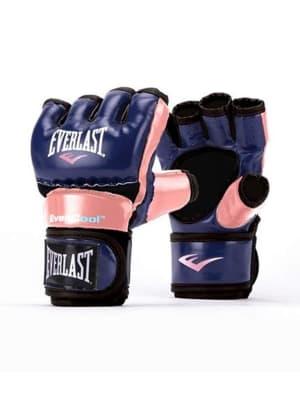 Everstrike Training Gloves - Pink Blue
