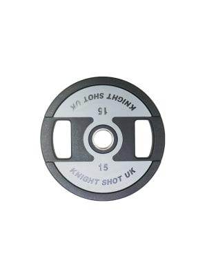 CPU Weight Plate Grey-Black   Pair