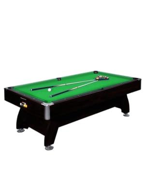 8 Feet Wooden Billiard Table - Green
