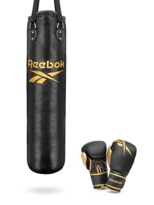Punchbag + Boxing Gloves Set