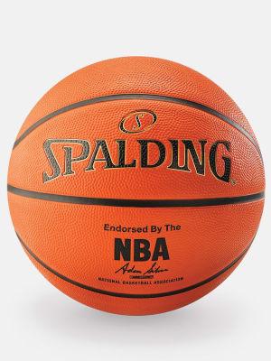 NBA Gold Series Outdoor Rubber Basketball - Size 7