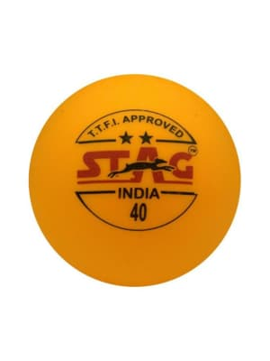 Table Tennis Ball Two Star - Pack Of 3