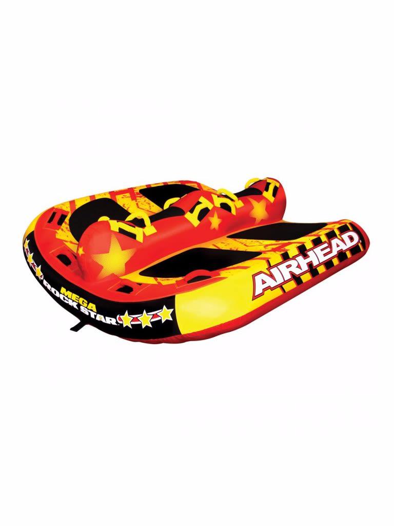 Mega Rock Star Inflatable Towable Tube - 6 Person
