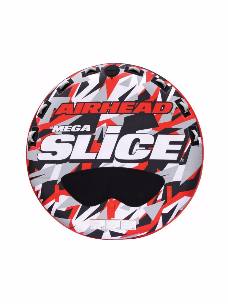 Mega Slice Inflatable Quadruple Rider Towable - 4 Person