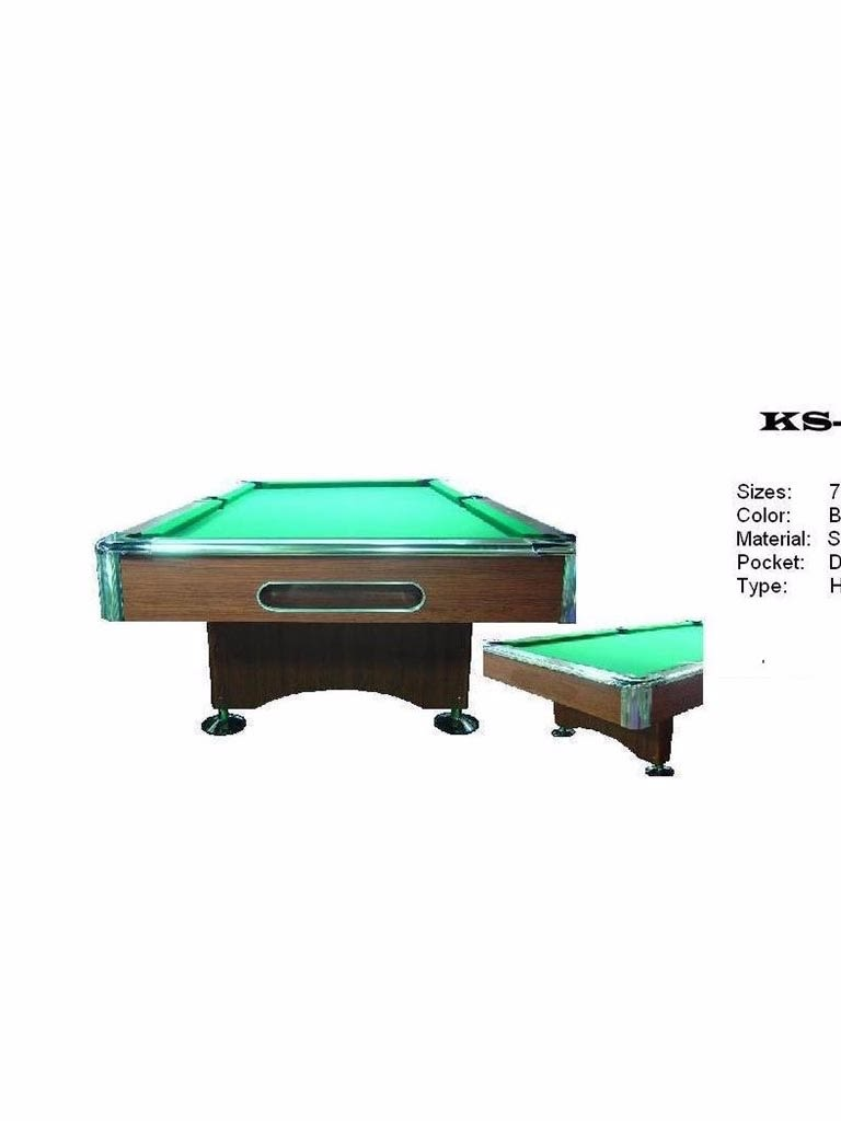 Knight Pool Table 9 Feet With Accessories