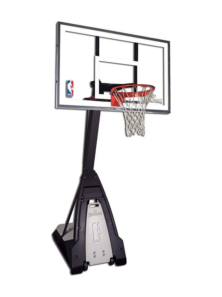 The Beast Glass Basketball Portable System