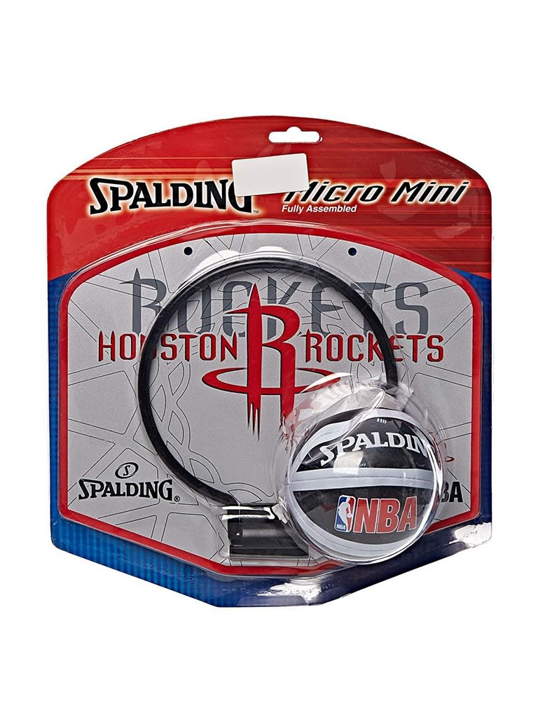 Kids NBA Team Rockets Micro Mini Backboard Set