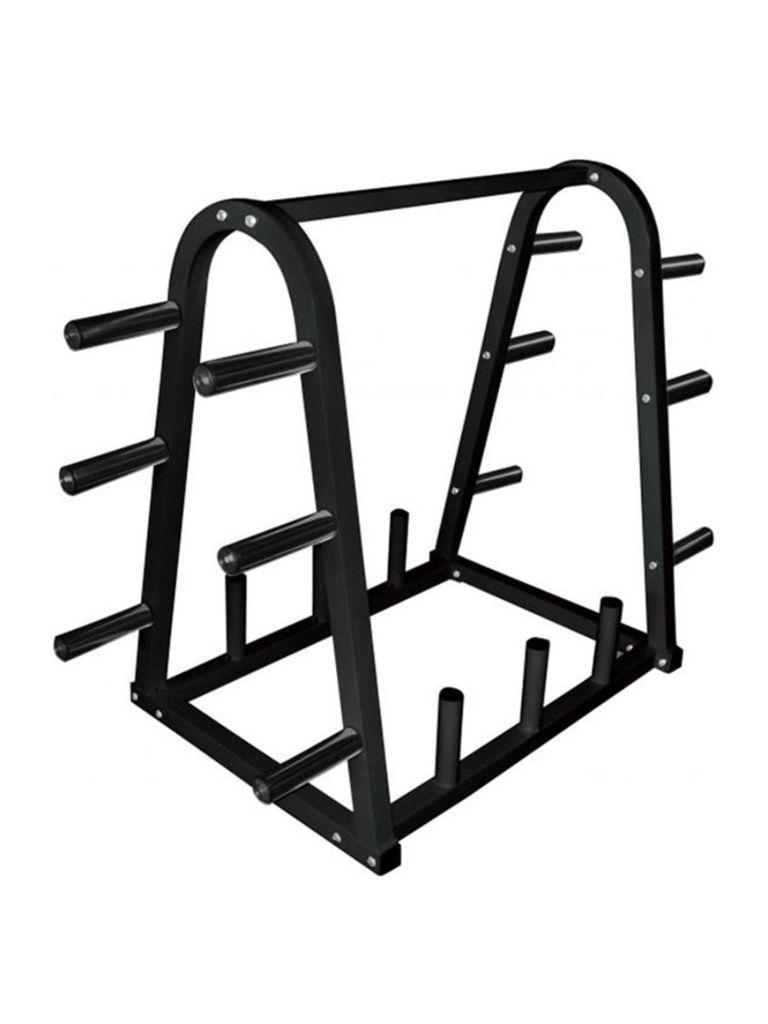 Weight Plate Bar Rack