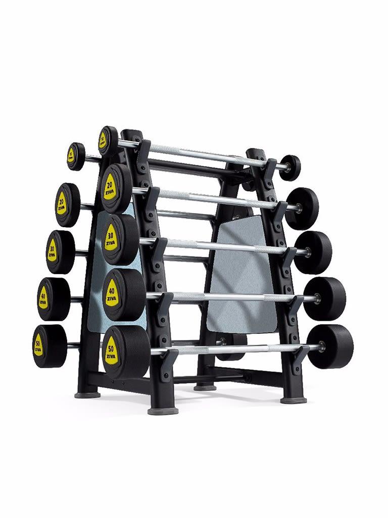 EX 10 Piece Barbell Rack