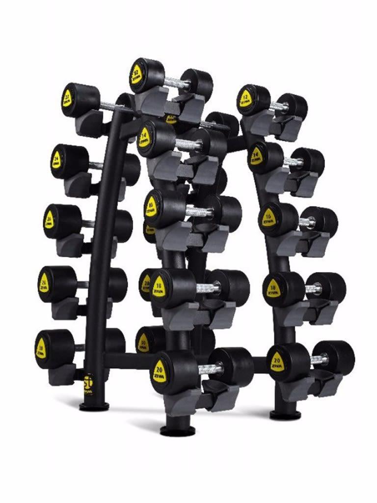 ST 10 Pair  X-Brace Dumbbell Rack