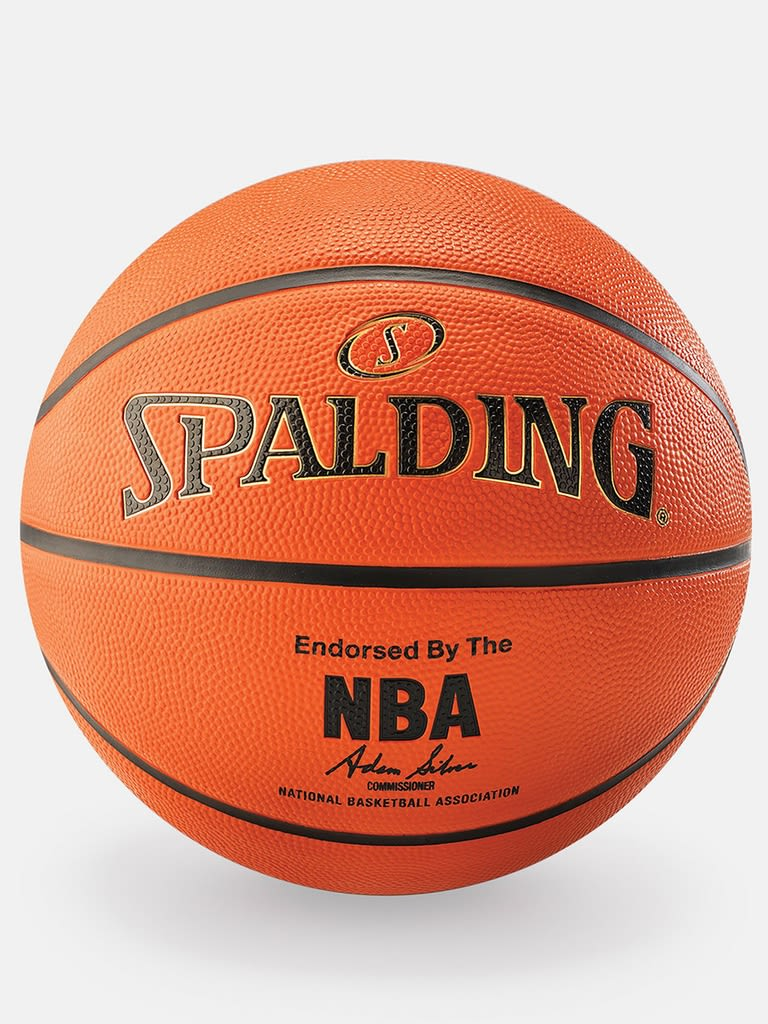 NBA Gold Series Outdoor Rubber Basketball - Size 7