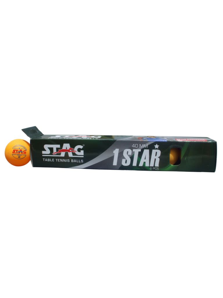 Table Tennis Ball One Star - Pack Of 12