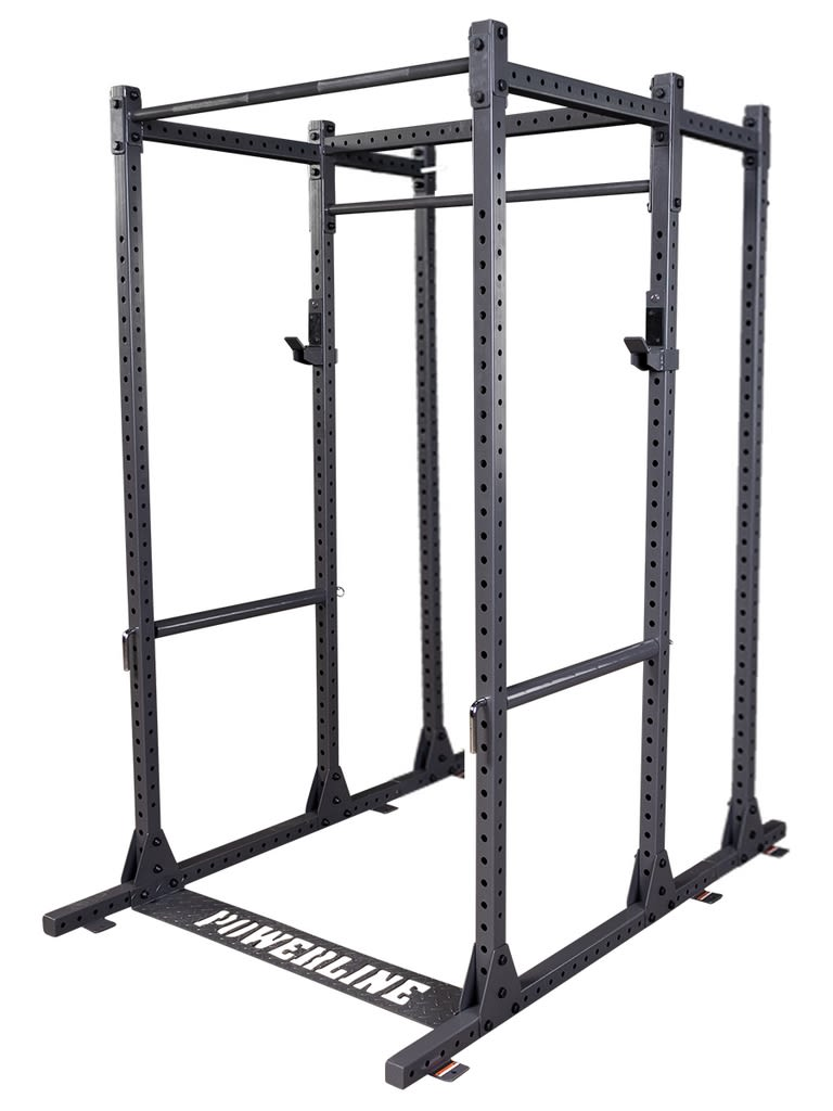 Powerline Rack with Extension and Multi Chin-Up Attachment